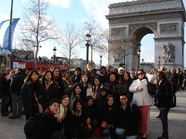 パリ集合写真